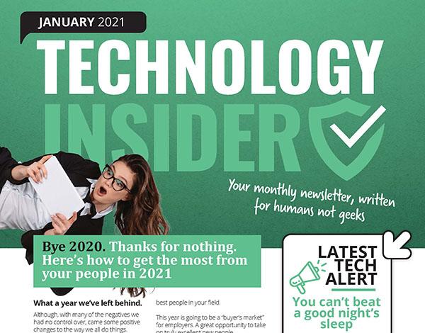 January 2021 Niagara Technology Insider