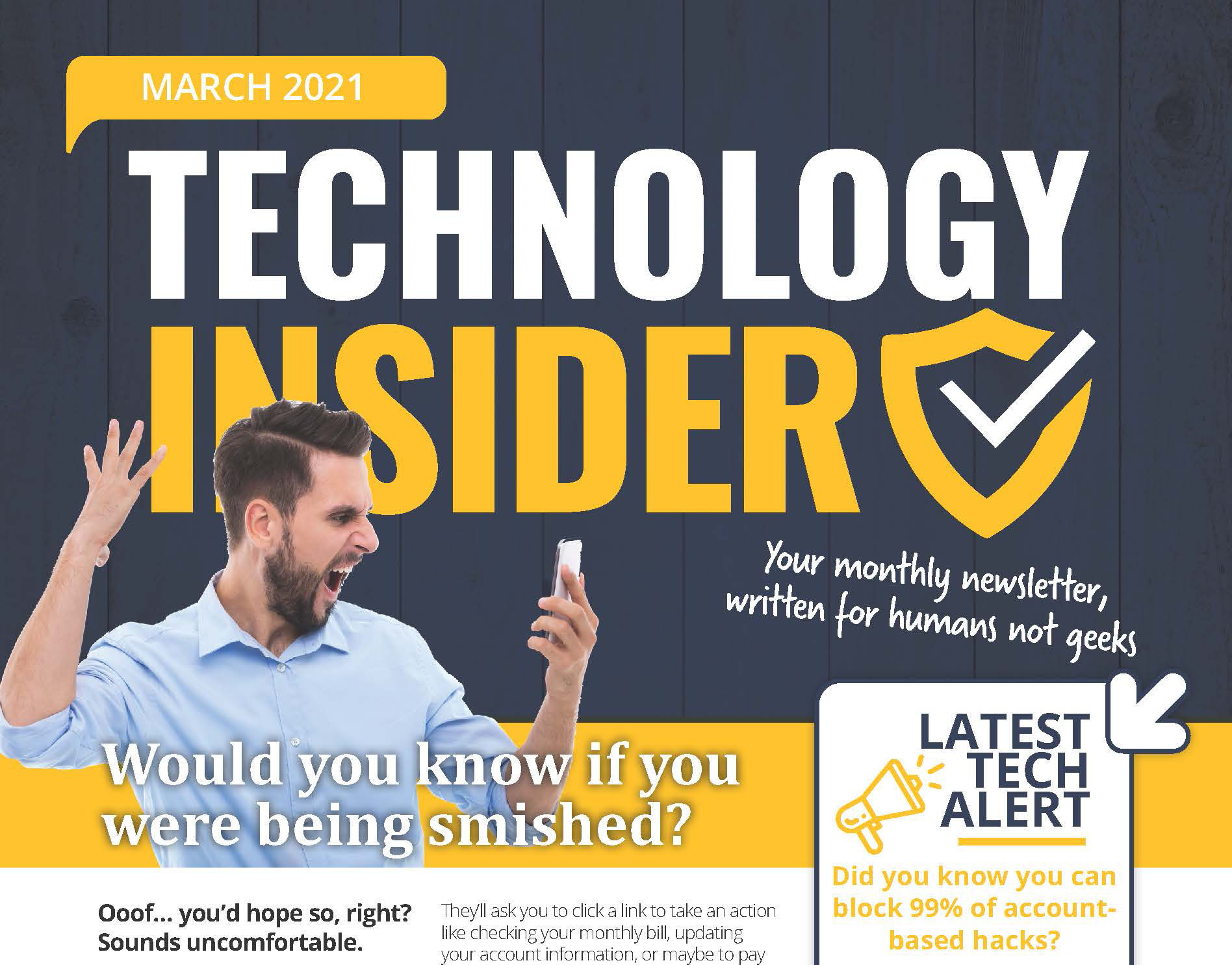 Niagara Computer and IT Support Technology Insider March 2021