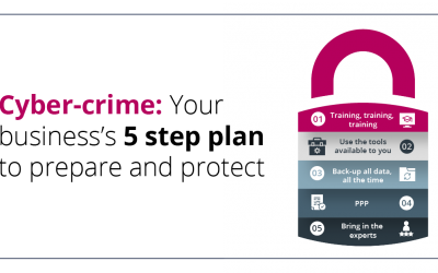 5 Step Plan to Protect Your Business from Cybercrime