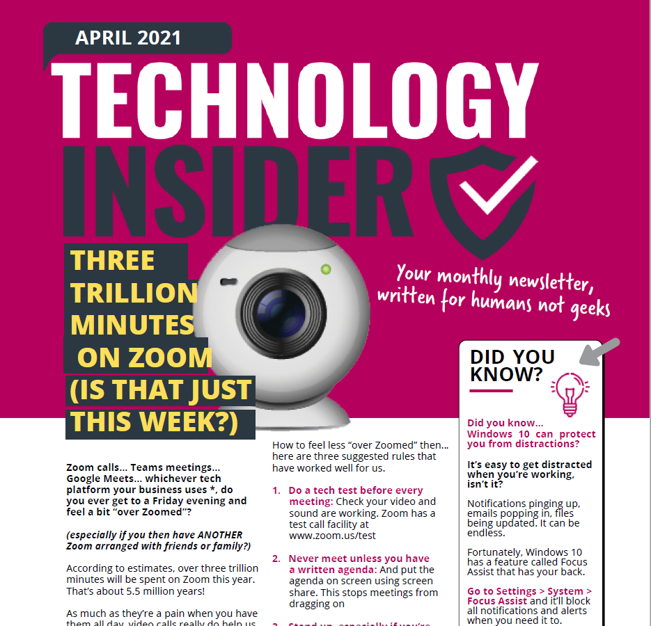 April 2021 Niagara Business Technology Insider