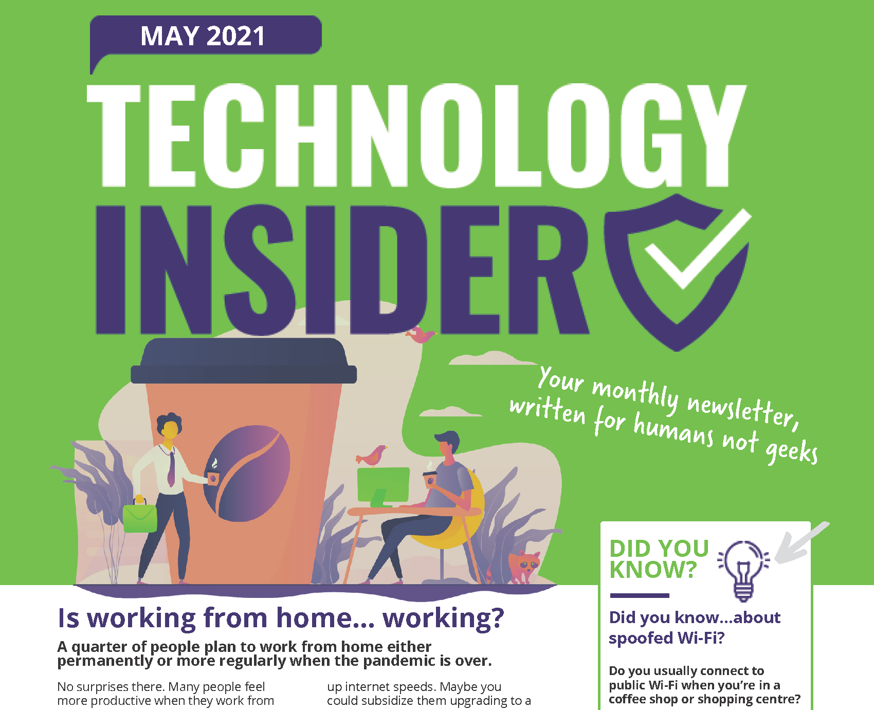 May 2021 Technology Insider