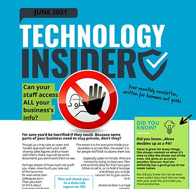 June 2021 Niagara Technology Insider