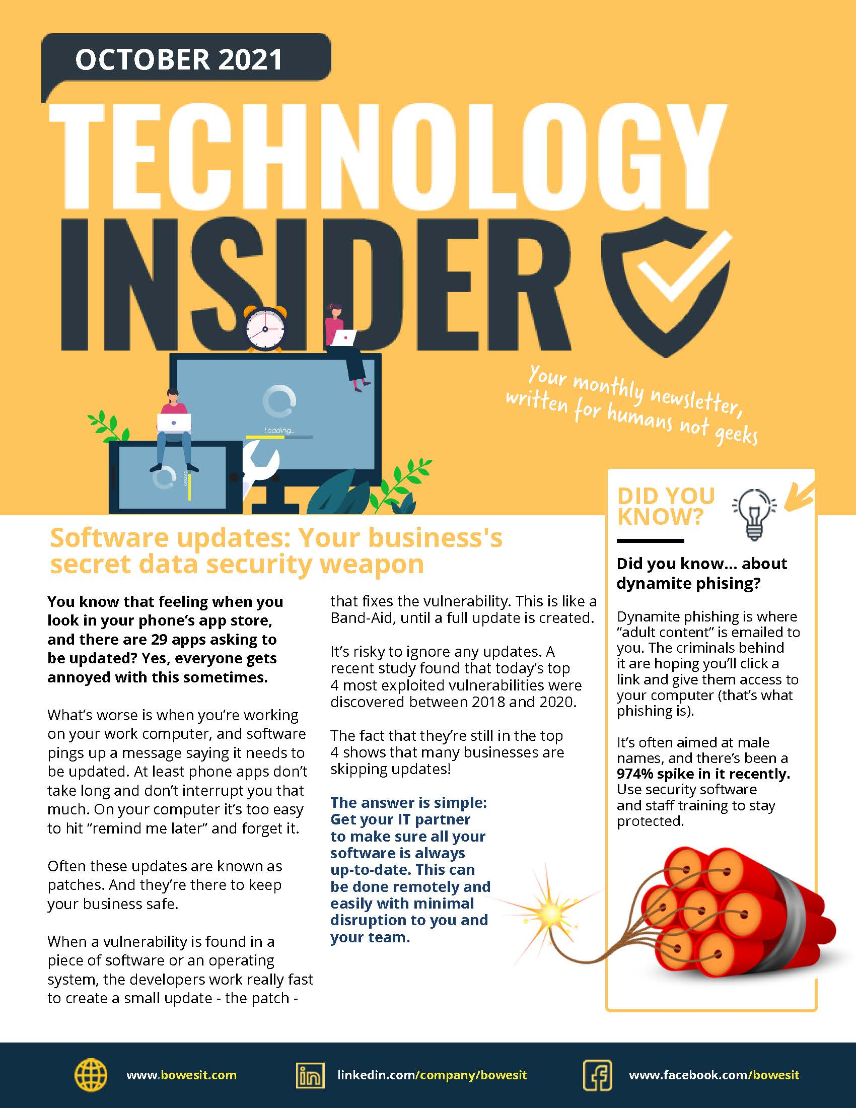 Bowes IT Niagara IT Support Oct 2021 Technology Insider